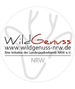 Wildgenuss NRW Aufkleber Rund
