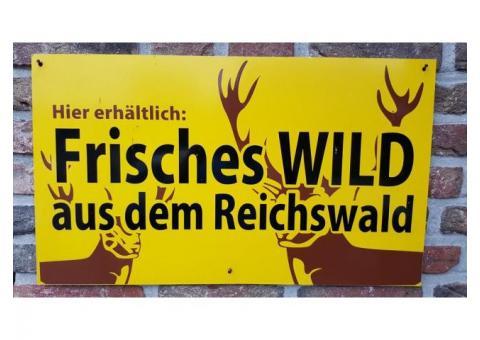 Frisches Wild aus dem Reichswald